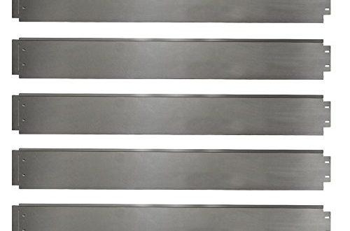 Rasenkante 5m 10m 15m 20m 30m 40m 50m 100x14cm oder 500x330 - Rasenkante 5m 10m 15m 20m 30m 40m 50m 100x14cm oder 100x18cm verzinkt Beeteinfassung Beetumrandung Mähkante Metall Palisade (Länge 5m - Höhe 14cm)